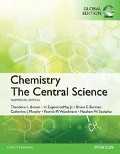 Chemistry : The Central Science, Global Edition (2014, Paperback)
