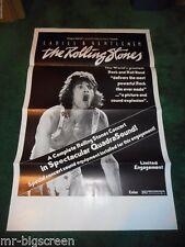 LADIES & GENTLEMEN THE ROLLING STONES - ORIGINAL TRI-FOLDED POSTER - 1973