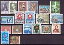 1963 Italia Annata Completa Nuovi Come Unificato 19 Valori MNH Integri