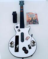 Wii Guitar Hero Gibson Les Paul Guitar 95125.805 & Legends of Rock Game Nintendo