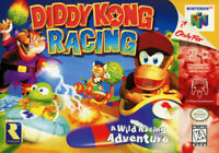 Diddy Kong Racing Nintendo 64 N64 Cleaned & Tested Cart Only Authentic