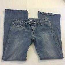 Old Navy Womens Jeans Size 8 Low Rise Medium Wash Denim Flare Leg