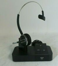 New listing Lot Of 7 Jabra Pro 9400bs Mono Wireless Headset w/ Charging Base and Adapters