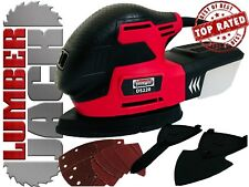 Detail Palm Mouse Sander 220w with Dust Box & Sanding Sheets Electric 240v