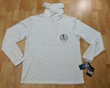 SALT LIFE Men's Sz Med SLX- S  UVAPOR Long sleeve Sun fishing shirt w/ facemask