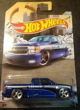 Hot Wheels Super CUSTOM Chevy Silverado with Real Riders New!