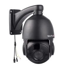 5MP PTZ IP Camera HD 2592x1944 Pan/Tilt 30x Zoom Speed Dome Camera IR 80M Black