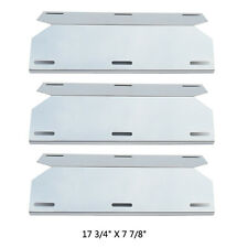 JPX631(3-pack) Stainless Stee Heat Plate Replacement Jenn-Air Grill