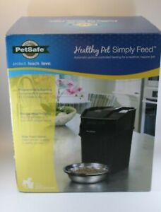 PetSafe Healthy Pet Simply Feed Automatic Feeder Portion Control Programmable