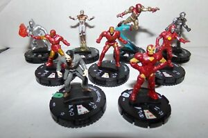 MARVEL HEROCLIX IRON MAN TEAM WITH IRON MAN LE