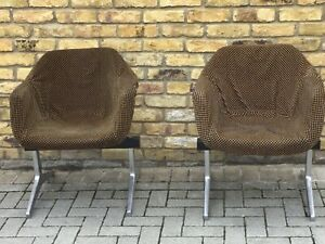 Robin day airport seats/1960's chairs/mid century modern chairs