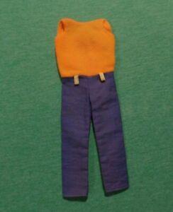 Vintage Skipper Clothes - MOD Era Skipper Pak - Summer Slacks - RARE Variation