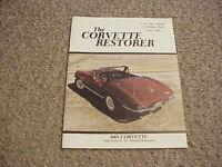 The Corvette Restorer Volume Eight Number Two / 1981 / Free Shipping!