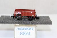 n2583, Fleischmann 8861 Offener Güterwagen K.Bay.Sts.B. BOX Spur N mint