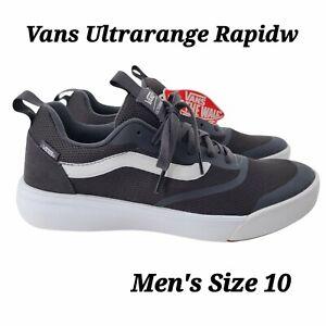 VANS UltraRange Rapidweld Men's Sneaker Size 10 Obsidian /White VN0A3MVUTYN NEW