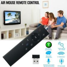 2.4G RF USB Bluetooth Voice Remote Control Keyboard Air Mouse For Android TV Box