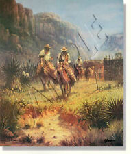 "**""BORDER PATROL""**LIMITED EDITION PRINT BY G. HARVEY** VERY LOW # PRINT #949"