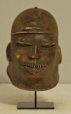 African Mask Makonde Helmet Wood Mask Tanzania Makonde Mask