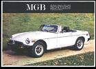 1975 MG B BROCHURE USA SPEC