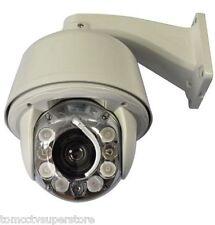 CCTV 700TVL High speed Zoom x30 Outdoor IR PTZ Dome Camera Auto tracking Wiper