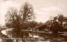 Hoddesdon. Yewlands Estate Gardens from New River in Mitchell's Series # 2350.
