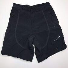 Endura Men's Nylon Elastic Black Shorts Size Medium