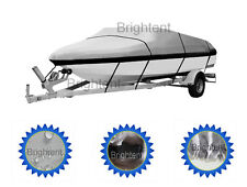 17-19 ft Trailerable Boat Cover Waterproof V-Hull 95'' Beam Heavy Duty GBT2H