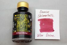 Diamine 50 ml Shimmertastic Fountain Pen Bottled Ink Wine Divine
