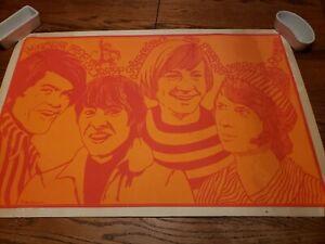 Rare Steve Sachs 1967 Monkeys Art Poster