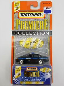 Montana Highway Patrol Premiere State Police II Collection Series 18 Matchbox
