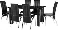 Living Room Rectangular Contemporary 7 Table & Chair Sets
