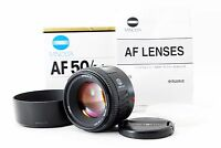 【Excellent+】Minolta AF 50mm F1.4 New for Sony A mount w/Hood from Japan 173311