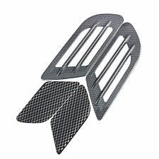 Car Decorative Air Flow Intake Scoop Turbo Bonnet Vent Cover Hood Fender Sticker