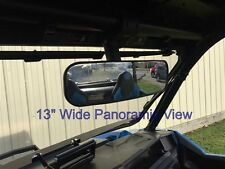"Polaris General 13"" Panoramic Rear View Mirror P/N:13281 Fits Polaris RZR too"