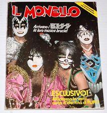 KISS IL Monello Italy Italian Magazine 1980 Aucoin Gene Simmons Ace Frehley