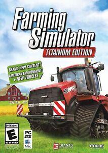 Farming Simulator Titanium Edition PC - NEW / OTHER FREE US SHIPPING