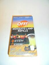 Off Mosquito Lamp Refills,  2 Repellent Diffusers, 2 Candles NEW OPEN BOX