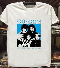 rare Vtg reprint 1982 The Go-Go's fan club-go gos belina carlisle t shirt gildan