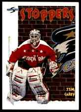 1995-96 Score Jim Carey #317