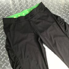 Skechers Women's Black Active Cropped Leggings Yoga Inside Pocket Size Sm