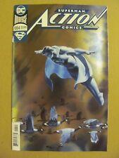 Action Comics #1004 DC Universe 2018 Superman FOIL Cover Bendis 9.6 Near Mint+