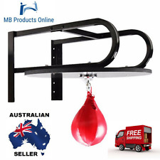 Boxing Pear Shape Speed Ball Swivel Bag Punching Exercise Speedball Fitness