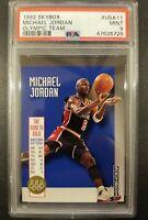 1992-93 Skybox The Road to Gold Michael Jordan #USA11 PSA 9 HOF Dream Team