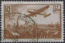 "FRANCE #C13: Used ""Plane Over Paris"" Air Mail issue"