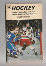 Hockey Tips on Playing Better Hockey by Scott Meyers 1972 Vintage Book