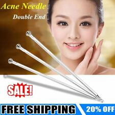 Non Slip Stainless Blemish Pimple Popper Acne Blackhead Removal Needle Tools HM