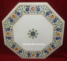 Handmade Marble Inlay Decorative Table Top, Marble Coffee Table Tops