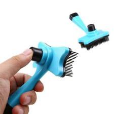 Pet Grooming Brush DeShedding Comb Edge Trimming Dog Rake Fur Removal Cat H R1E9