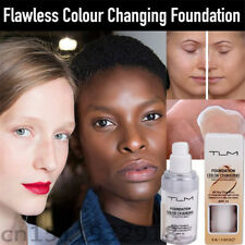 Color Changing Foundation Change To Your Skin Tone By Just Blending--