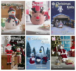 King Cole Christmas Knits Knitting Book Double Knit Festive Pattern Booklet